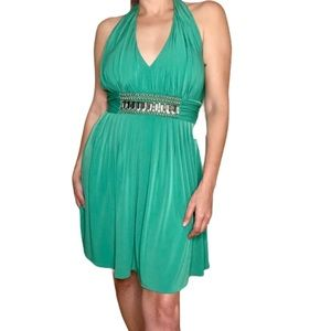 Lord and Taylor Decode 1.8 green dress 12